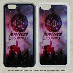 nice 5 SOS Seconds Of Summer for iPhone 6-6S Case iPhone 6-6S Plus iPhone 5 5S SE 4-4S HTC Case Samsung Galaxy S5 S6 S7 and Samsung Galaxy Other