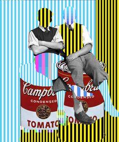 The Story of Leo & Pipo, transfiguration of different memories, by David Szauder II Edinburgh International Festival, Distortion Art, Single Image, French Artists, Fails, Leo, Cool Photos, Street Art, Poster Prints