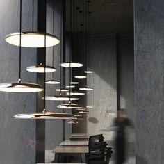 Artist 40 - flache LED-Hängeleuchte, kupfer 7005949