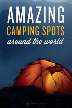 Who doesn't love camping? The smell of the fresh air in the morning, the view of the stars at night, a roaring campfire and the promise of s'mores Camping Spots, Camping And Hiking, Camping Tips, Camping Essentials, Camping Meals, Outdoor Fun, Outdoor Travel, Oh The Places You'll Go, Places To Travel