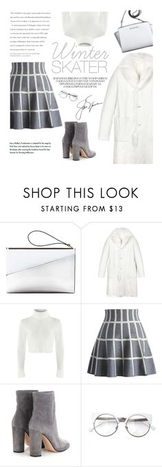 """""""Gri"""" by modernbovary ❤ liked on Polyvore featuring Marni, Jil Sander, Chicwish, Gianvito Rossi, Michael Kors, women's clothing, women, female, woman and misses"""