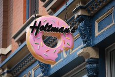 Donut Shop in Over The Rhine, Cincinnati, old fashioned cake and yeast donuts that are out of this world delicious!