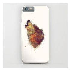 Wolf iPhone 6s Case ($35) ❤ liked on Polyvore featuring accessories, tech accessories and iphone & ipod cases