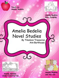 Book: Amelia Bedelia (primary/elem) - \