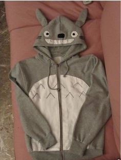 Totoro fans take note!  Now I want to see the Catbus Hoodie...