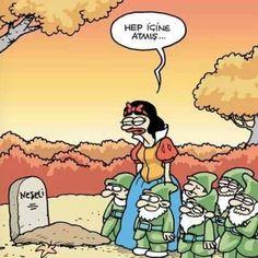 Snow white Karikatür komedi dram    dokunaklı sonlar