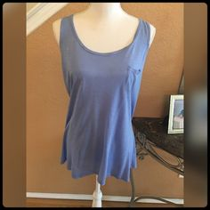 ✨ Soft Blue Tank Top Shirt✨ Worn only a few times. Too big for me. Cute with jeans  New York & Company Tops Tank Tops