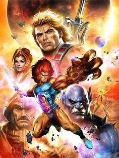 Tagged with thundercats, masters of the universe; Masters of the Universe vs Thundercats! Best 90s Cartoons, Old School Cartoons, Classic Cartoons, Comic Book Characters, Comic Books Art, Comic Art, Cartoon Fan, Cartoon Shows, He Man Tattoo