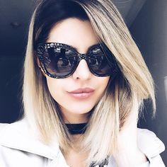a3235695cbc85 Eu e meu óculos mais lindo da vida  dolcegabbana para  oticasvisualdolago! Carol  Tognon
