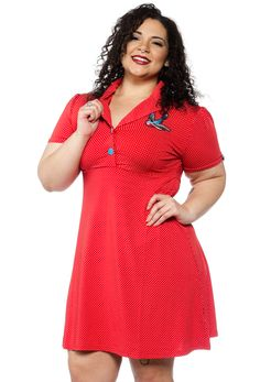 SOURPUSS SONGBIRD ROSIE DRESS