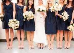 Image result for champagne wedding dress navy heels