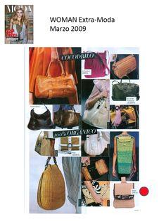 #Colaboraciones con la #Revista WOMAN Extra - Moda. Marzo 2009.