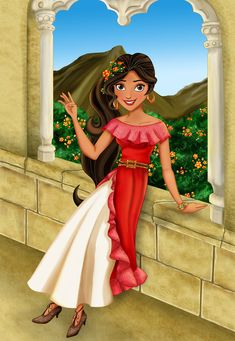 So if any of you are aware...Disney has made another leap in to the cultural melting pot and has come up with an adorable Latina princess. She will be making her debut in 2016, but since I've only ...