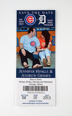 One day, If I were to get married...these would have to be my invitations. Room for 2 teams ❤️