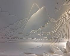 Leblon - paper sculptures on Behance
