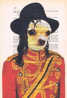 Hey, I found this really awesome Etsy listing at https://www.etsy.com/listing/191198803/michael-jackson-chihuahua-print-poster