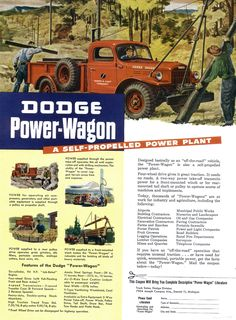 1947 Dodge Truck- my great grandfather had one of these