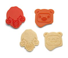 EXCLUSIVE! Star Wars Rebel Friends Endor Cookie Cutters - 2 pack! http://geek.ragebear.com/tqaok  Star Wars Geek Gadgets Geek Stuff