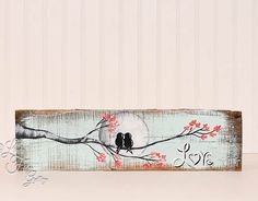 Rustic Valentine Gift Wood 5th Anniversary por LindaFehlenGallery