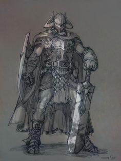 ArtStation - stato_drawing_fantasy characters, Stato Ozo