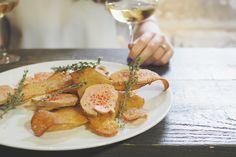 Arles, Provence au Bistrot A Coté par Jean-Luc Rabanel. Foie gras, romarin et vin blanc / Tippy.fr