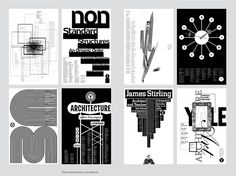 Yale Architecture, Graphic Design Posters, Graphic Designers, Michael Bierut, Cool Typography, Grid Layouts, Beirut, Conceptual Art, Magazine Art