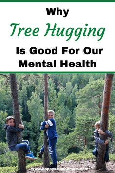 Learn how tree hugging can help reduce stress and boost mood. Natural Parenting, Parenting Advice, Health And Wellness, Mental Health, Health Tips, 3 Boys, Living At Home, Natural Living, Activities For Kids