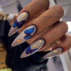 Natural Almond Nails, Short Almond Nails, Short Pink Nails, Short Nails Art, Heart Nail Art, Heart Nails, Heart Nail Designs, Nail Art Designs, Design Art