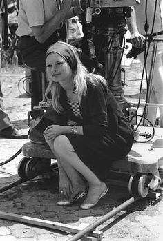"""Contempt"" Brigitte Bardot 1963 Embassy"