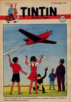 """Voici le """"Stratonef H. 22"""" qui vient de décoller pour son premier vol d'essai. Les pilotes se doutent-ils du danger qui les menace ?..."""