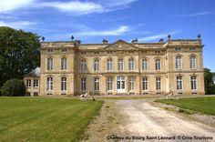 Château du Bourg Saint Léonard #Orne #PureNormandie © Orne Tourisme