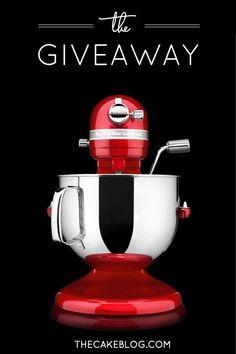 7-qt KitchenAid Stand Mixer Giveaway