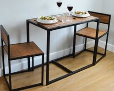 15 Best Compact Dining Table Images Industrial Furniture Dinning