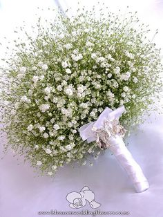 babys-breath-bouquet by Blossom Wedding Flowers, via Flickr