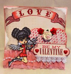 Valentines day card by Delores Miller