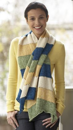 Airy Waves Shawl - Free Knitting Pattern With Website Registration - (lionbrand)