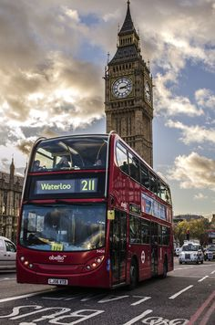 Big Ben & the London Buses