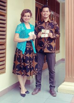 LOVE HIM 'TILL THE DEATH DO A PART... #love #couple #batik #indonesia #bataknese