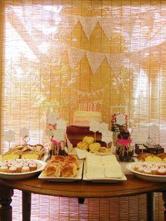 Tea Party Table - Süss pastelería