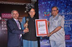 Sharda University, Education Excellence Awards, March - 2012