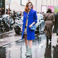 #PFW look do dia day 1: tudo azul!