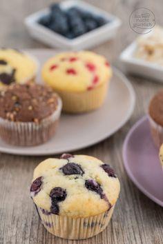 Saftige Muffins Grundteig