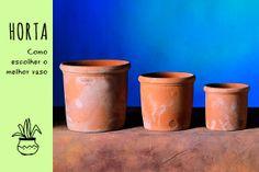 Jardinagem: como escolher o vaso para plantar a sua horta de apartamento - dcoracao.com - blog de decoração