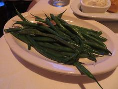 SAUTEED FRENCH GREEN BEANS -  Fleming's Prime Steakhouse Recipe