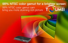 Toumei C800i is a HD Projector, it wil give you a brighter screen, 98% NTSC color gamut cam bring you more stunning rich picture. Know more at http://www.toumeipro.com/projector/c800-pico-projector.html #ToumeiC800i #BrightScreen #NTSC #Color #Projectors #HDprojector
