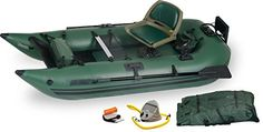 Sea Eagle 285 Inflatable Frameless Fishing Pontoon Boat - Pro Package -- Check…