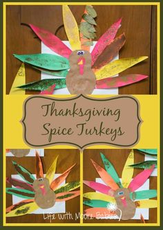 Life with Moore Babies: Thanksgiving Spice Turkeys