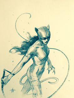 Catwoman by Gabriele Dell'Otto *