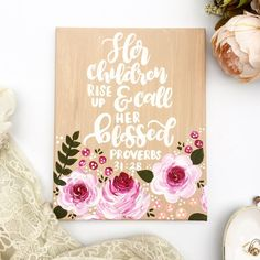 Proverbs 31:28 Mother's Day Gift / Proverbs 31 Collection