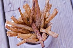 "Delicious Daikon French Fries - Based on the ""Perfect French Fries"" method - 4 g Net Carbs per serving"